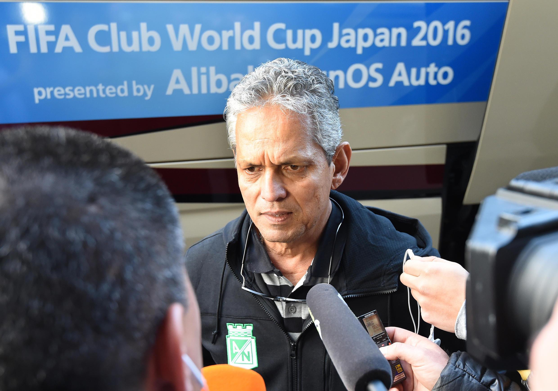 Reinaldo Rueda, el técnico del Atlético Nacional de Colombia.