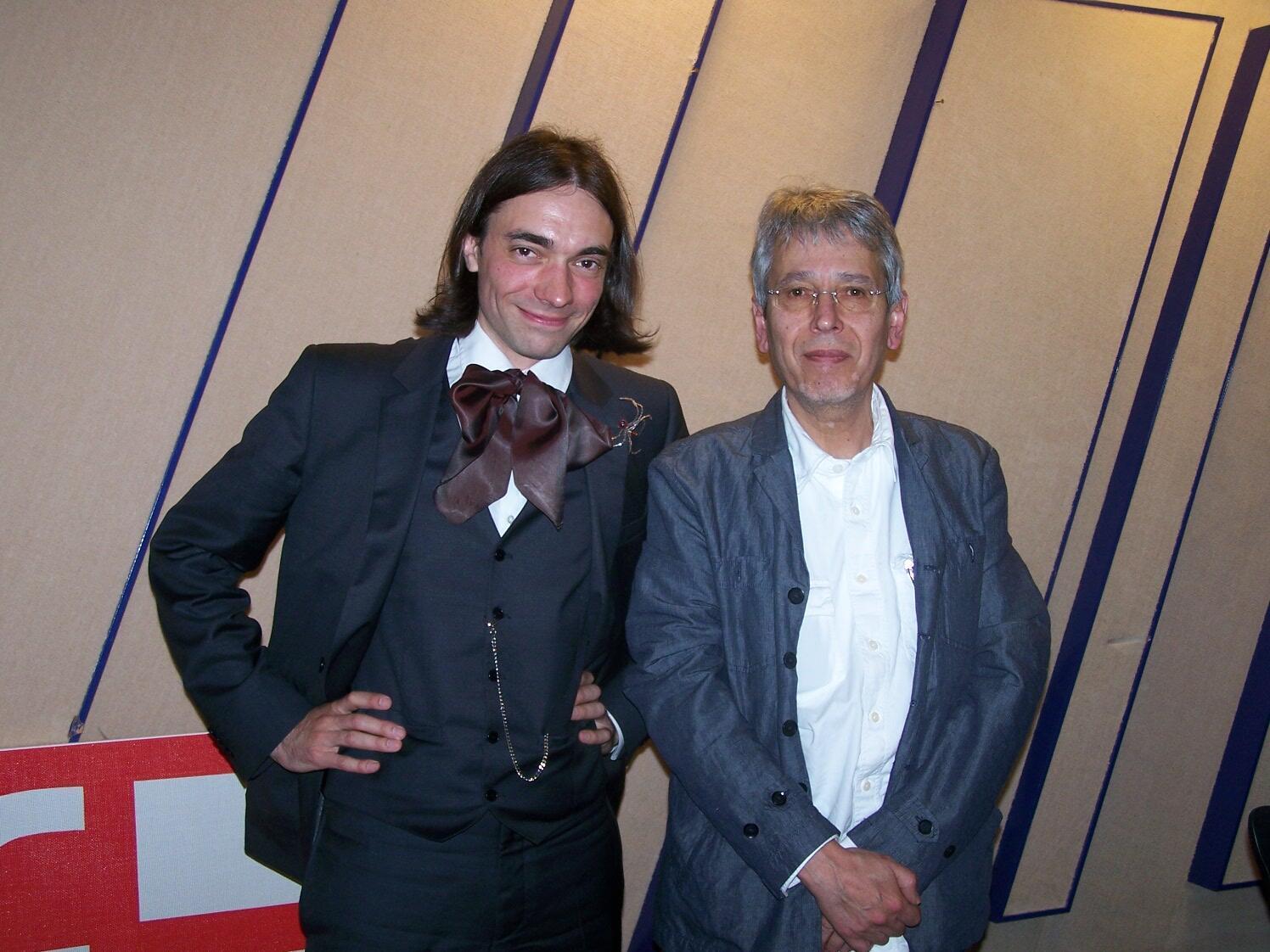 Cédric Villani et Jean-Yves Casgha