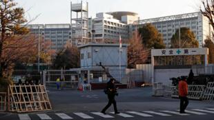Nhà tù tại Tokyo, Nhật Bản, nơi giam giữ ông Carlos Ghosn. Ảnh chụp ngày 08/01/2019.