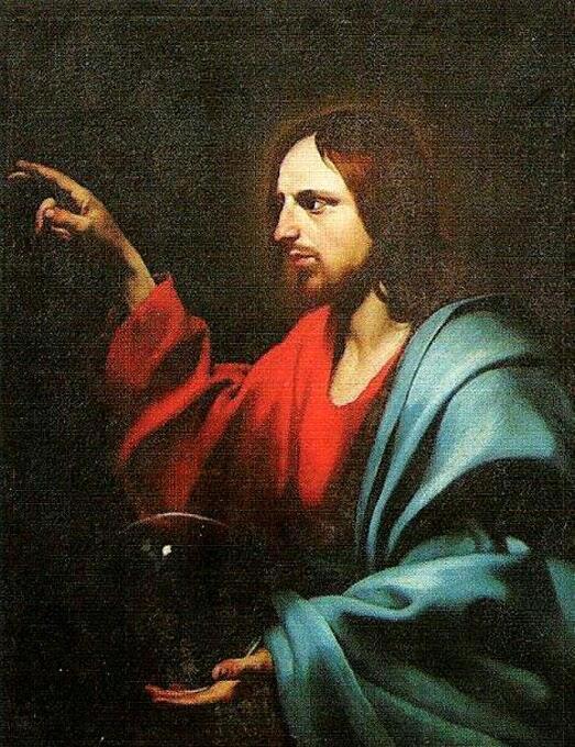 Хосе де Рибера, «Христос Благословляющий» из Нивийяка
