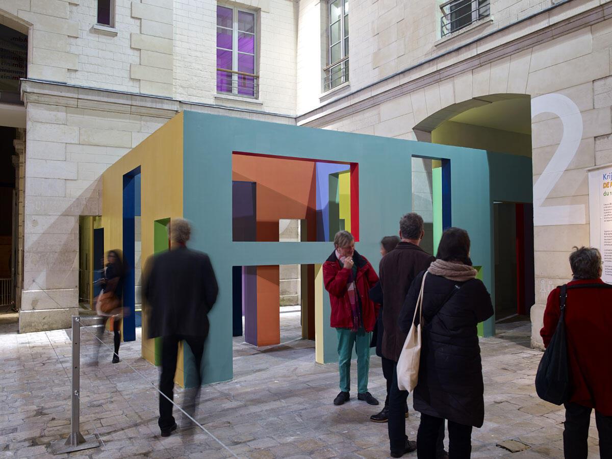 Krijn de Koning at the 104 cultural centre in Paris