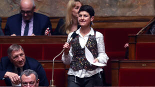 Delphine Bagarry, médecin généraliste et députée du groupe Écologie, Démocratie, Solidarité. Ici, à l'Assemblée nationale à Paris, le 6 février 2018.