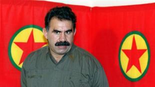 Abdullah Öcalan, le leader du PKK, actuellement emprisonné.