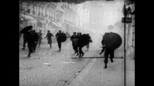 Image du film documentaire «Les Révoltés» de Michel Andrieu et Jacques Kebadian.