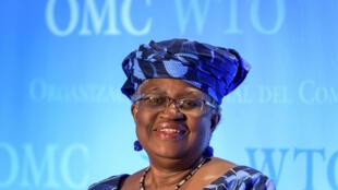 Ngozi Okonjo-Iweala, exministra de Finanzas de Nigeria, en Ginebra, el 15 de julio de 2020, en el marco de su audición en la OMC
