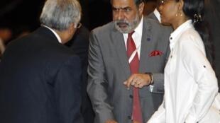 Bộ trưởng Thương mại Ấn Độ Anand Sharma tại hội nghị Nusa Dua ở Bali - Reuters /Edgar Su