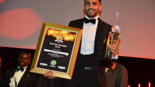 Riyad Mahrez, melhor futebolista africano de 2016.