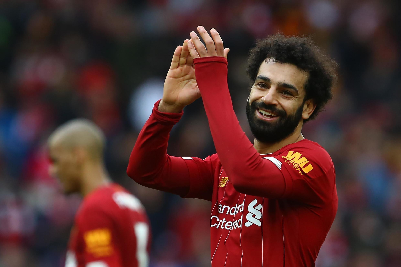 Dan wasan gaba na Liverpool Mohamed Salah.