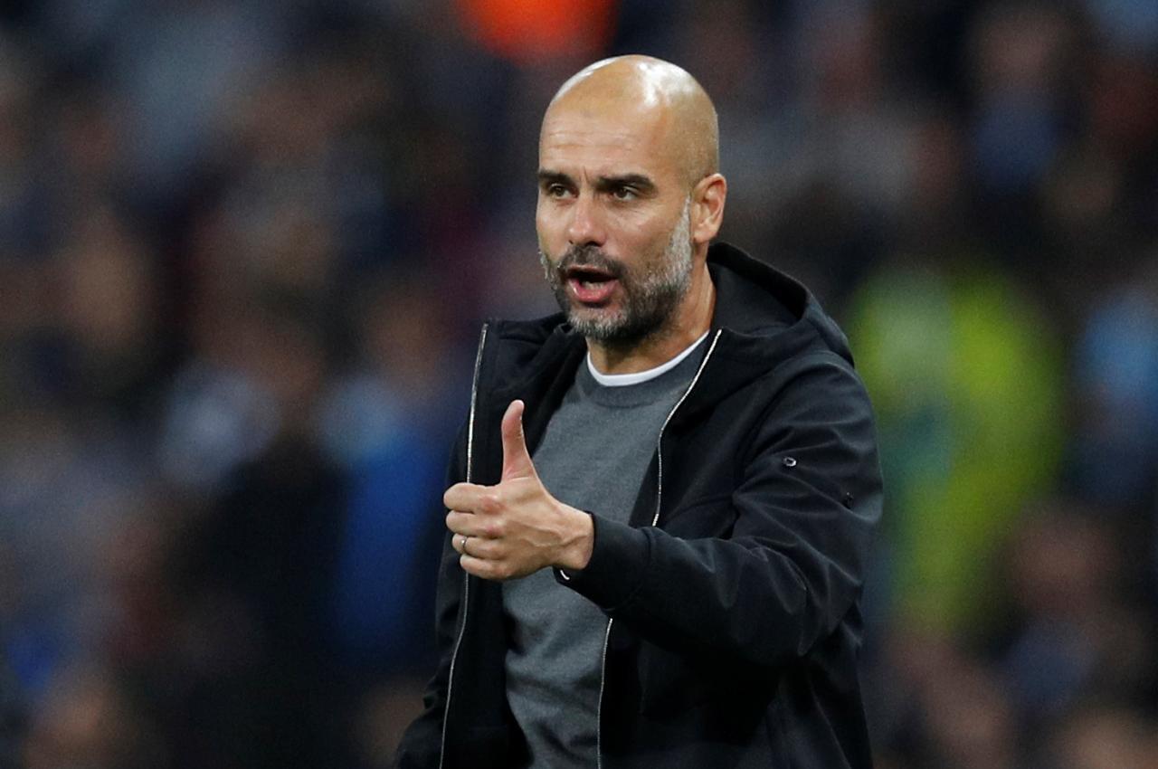 Mai horas da kungiyar Manchester City Pep Guardiola.