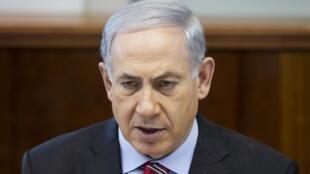 Le Premier ministre israélien Benyamin Netanyahu, le 30 mars à Jérusalem.