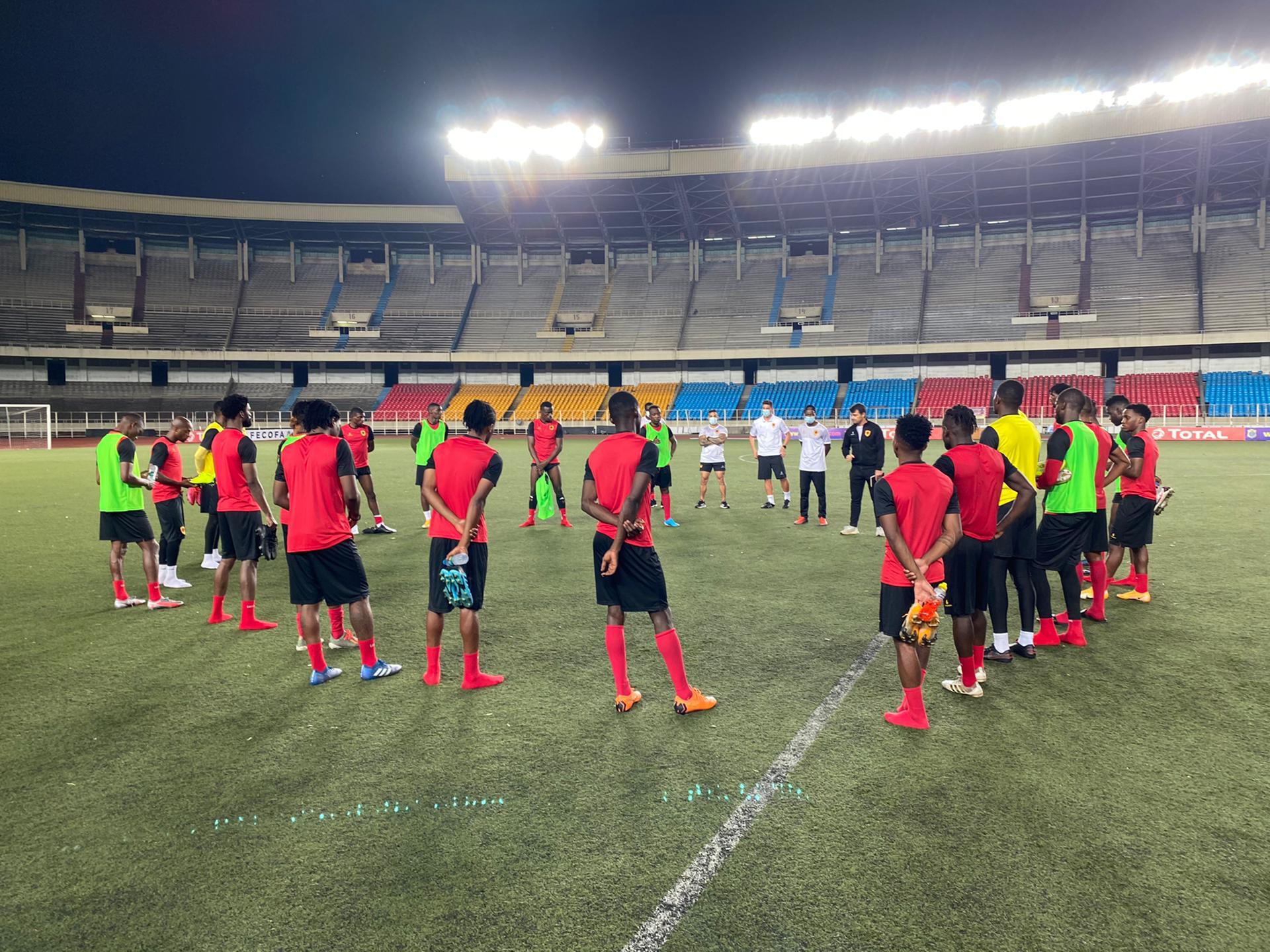 Selecção angolana de futebol.