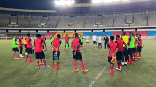 Desporto - Pedro Gonçalves - Angola - Futebol - Palancas Negras - Football
