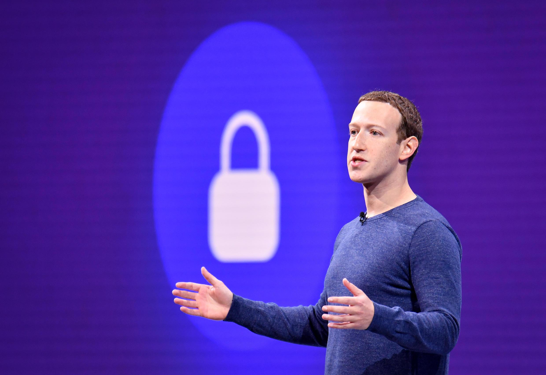 脸书联合创始人、董事长兼CEO马克·扎克伯格资料图片