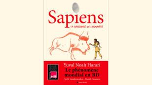 Couverture livre Sapiens de Yuval Noah Harari