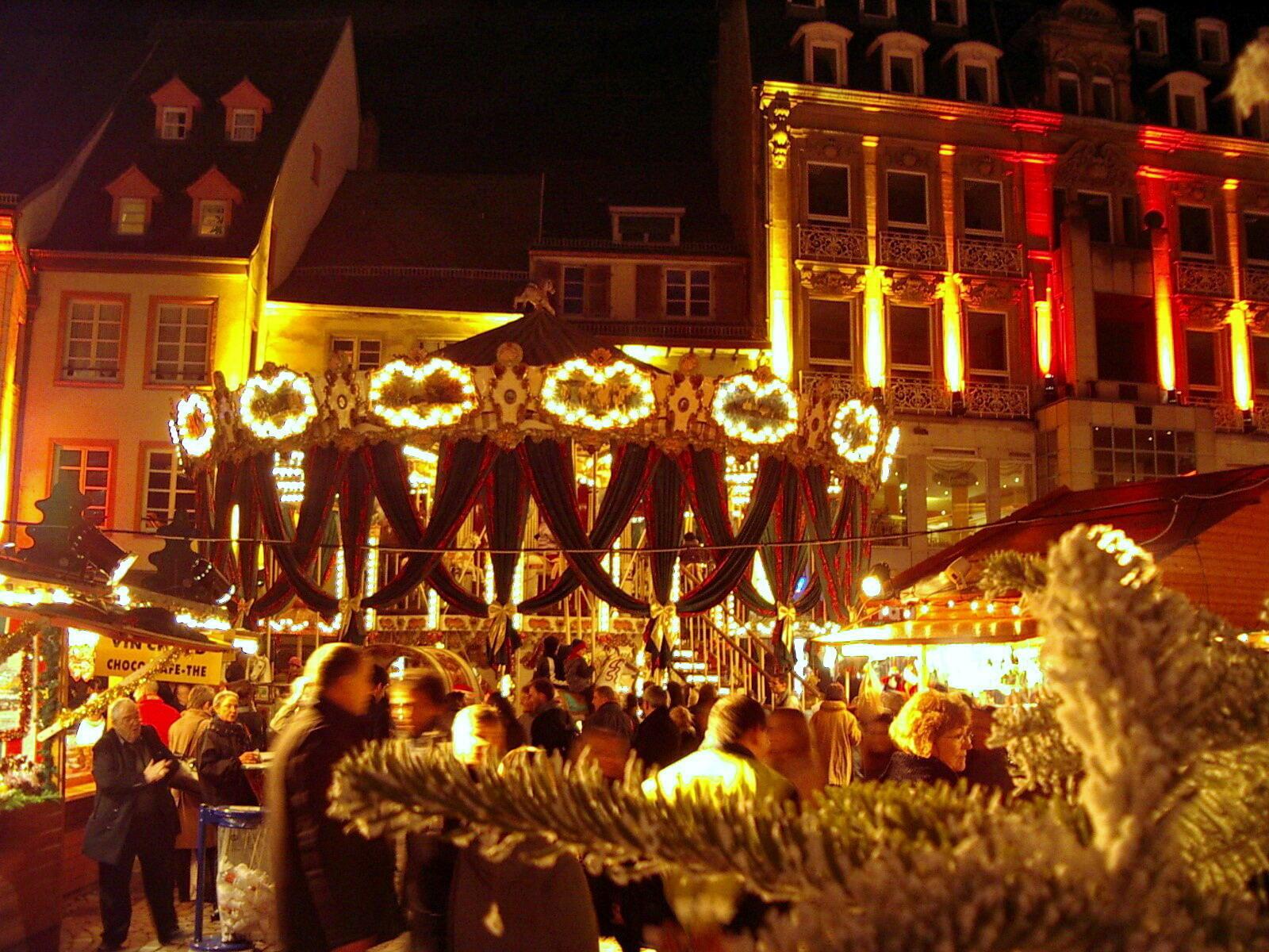法國Mulhouse的聖誕集市