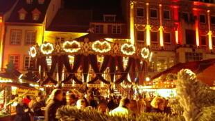 法国Mulhouse的圣诞集市