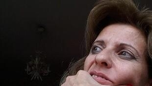 "Nadine Zelhof, de la ONG ""Al – Sakhra Syria"" en Damasco."
