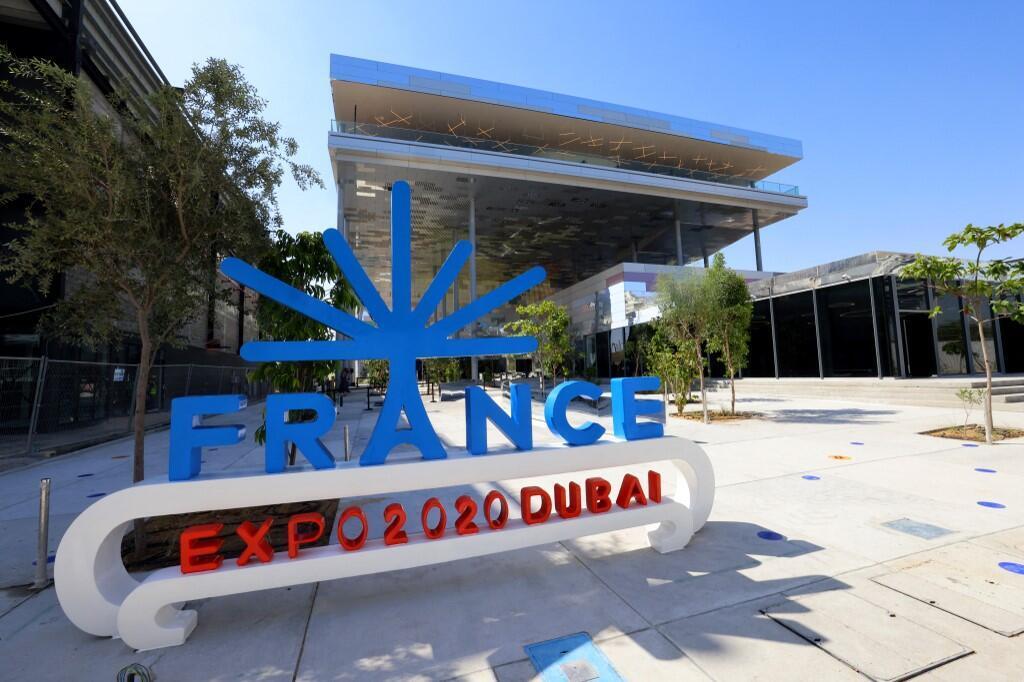 Dubai - le pavillon français à l'exposition universelle de Dubai.