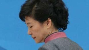 图为韩国前总统朴槿惠