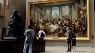 Au musée d'Orsay, les touristes cet été viennent principalement des quatre coins de l'Hexagone.