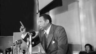 Une photo non datée de Paul Robeson.