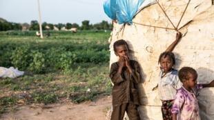De jeunes enfants vivent dans les environs des anciens repères de Boko Haram.