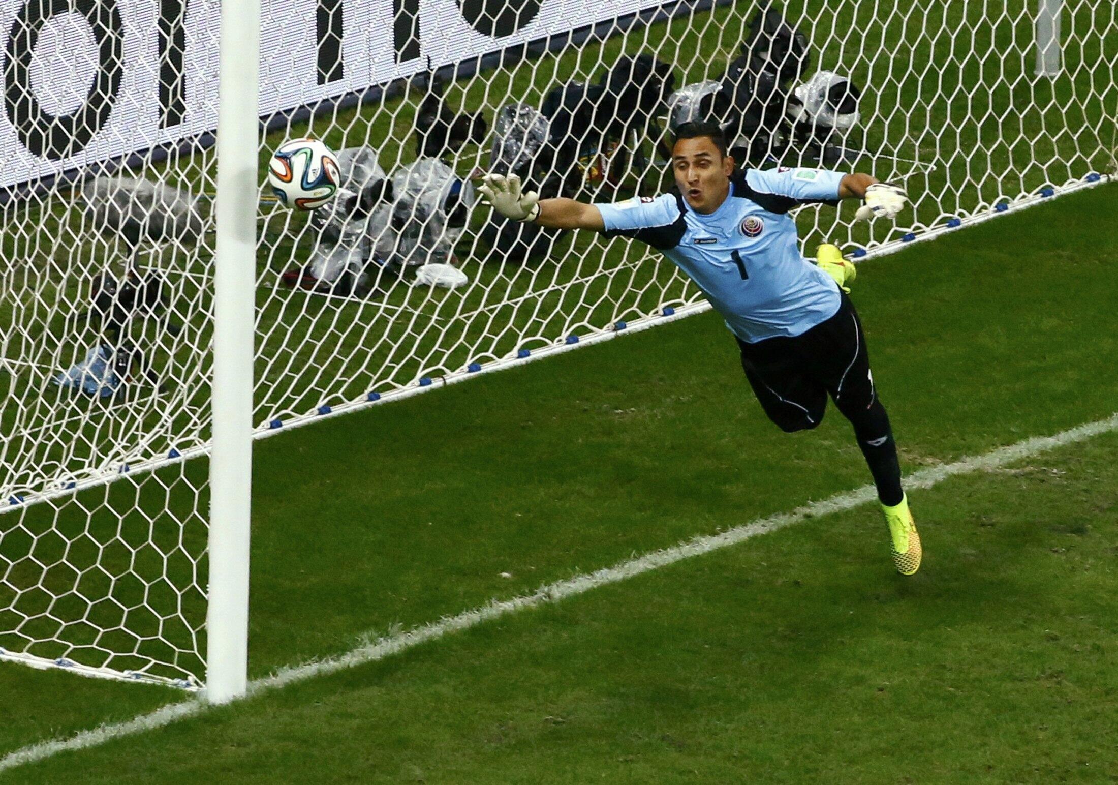 O Real Madrid anunciou a contratação do goleiro da Costa Rica, Keylor Navas.