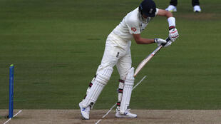 Out - England captain Joe Root edges a Kyle Jamieson delivery to Ross Taylor in the slips as he is caught for 42 off the first ball of the fourth day in the first Test against New Zealand at Lord's on Saturday