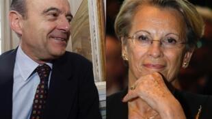 Ex primeiro-ministro de Jacques Chirac, Alain Juppé volta ao governo na pasta da Defesa; Michelle Alliot Marie passa da Justiça para as Relações Exteriores.