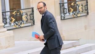 Le Premier ministre Edouard Philippe, le jeudi 18 mai 2017, à Matignon.