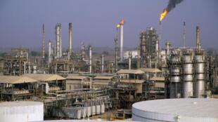 Raffinerie de pétrole de Kaduna, Nigeria.