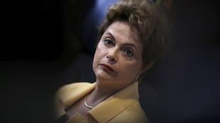 A presidente Dilma Roussef.