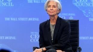 La directrice générale du Fond monétaire international, Christine Lagarde, à Washington, le 1 décembre 2014.