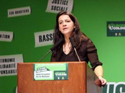 Green Party leader Cécile Duflot