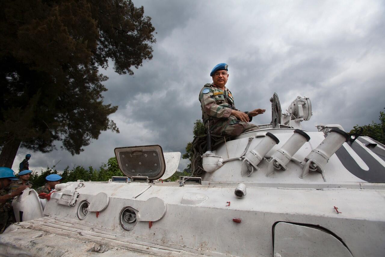 Le général trois étoiles Chander Prakash a commandé la Monusco, en République démocratique du Congo, entre 2010 et 2013.