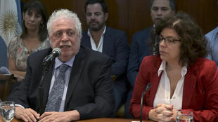 Argentina's Health Minister Gines Gonzalez Garcia (left) has been asked to resign by President Alberto Fernandez after it emerged that friends of his had skipped the line for a Covid-19 vaccine