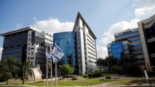 Le quartier économique de la ville de Petah Tikva, qui accueille des entreprises de la tech israëlienne, le 27 août 2020 (image d'illustration).