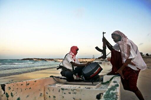 'yan fashin jirgin ruwan Somalia