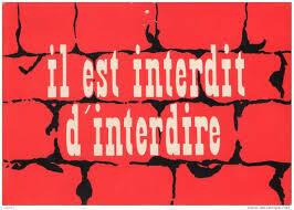 """یکی از شعارهای مه 68: """"واقعبین باشید و غیرممکن را بخواهید"""""""