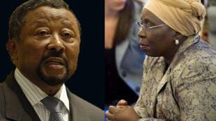 Jean Ping et Dlamini Zuma, en lice pour la présidence de la Commission de l'Union africaine.