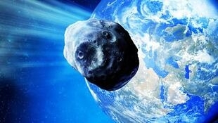 Imagen del asteroide  2004BL86, de aproximadamente 500 metros de diámetro pasó cerca de la tierra en 2015.