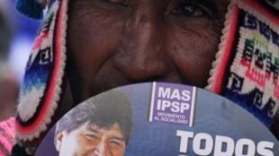 En Bolivie, le président sortant Evo Morales est en tête des sondages pour sa réélection dimanche 12 octobre.