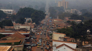 Vue de Bangui, en République centrafricaine (image d'illustration).