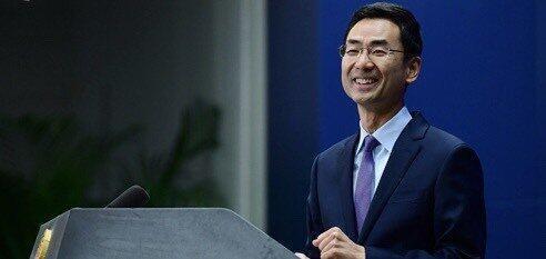 中國現任常駐聯合國副代表耿爽7日向聯合國祕書處遞交安全證書,正式開始履職 07/07/2020