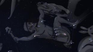 """បណ្តុំផ្កាយ Orion ហើយដែលគេស្គាល់ជាទូទៅថា """"ផ្កាយយាមនង្គ័ល"""" នៅក្នុងប្រទេសកម្ពុជា"""