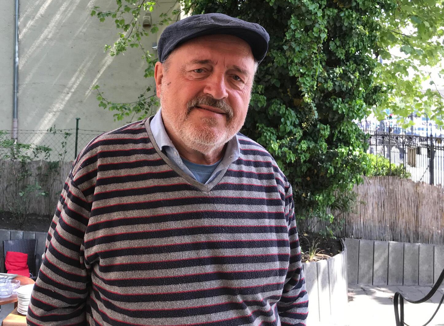 O historiador Gyoso Lugosi, da Universidade Elte de Budapeste.
