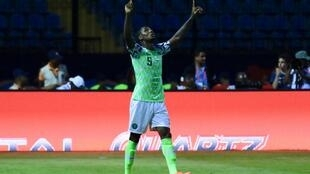 Odion Ighalo scored two of Nigeria's goals in their 3-2 win over Cameroon.