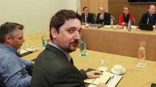 Laurent Brun, secrétaire général de la fédération CGT cheminot, le 19 février 2018.