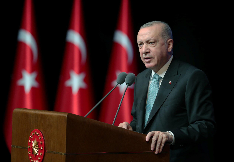 土耳其总统艾尔多安 资料照片