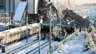Acidente de trem na Turquia deixa pelo menos nove mortos em Ancara